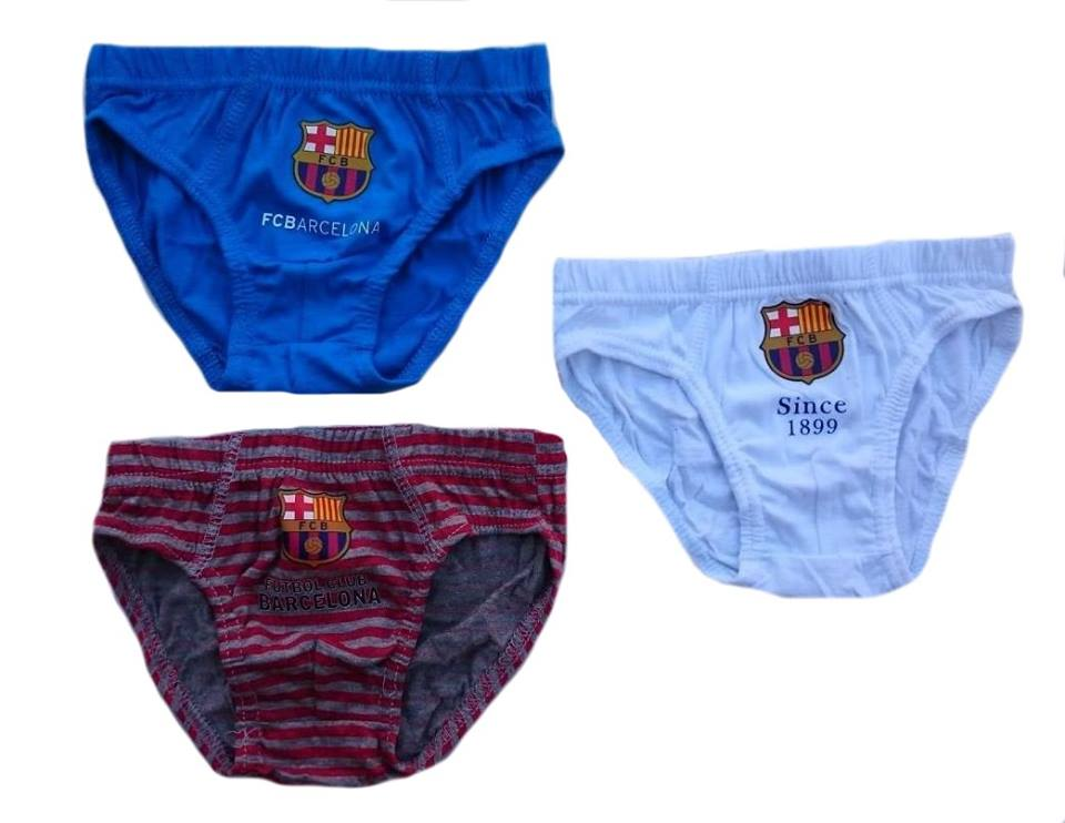 322287564c342 Spodné prádlo FC BARCELONA ( 92/98, 110/116 ) trojbalenie | eshop ...