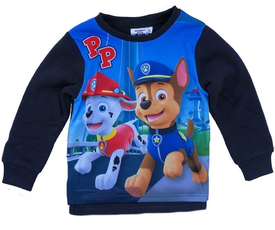 93aa30edebe0 Teplé hrubšie tričko PAW PATROL s dlhým rukávom ( 98